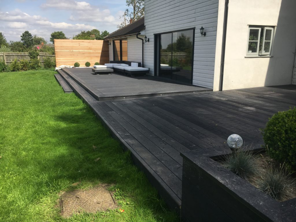 millboard driftwood decking conway landscapes