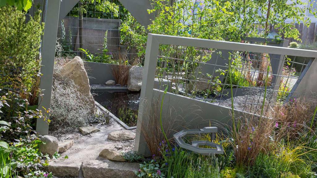 mind trap garden rhs chelsea flower show